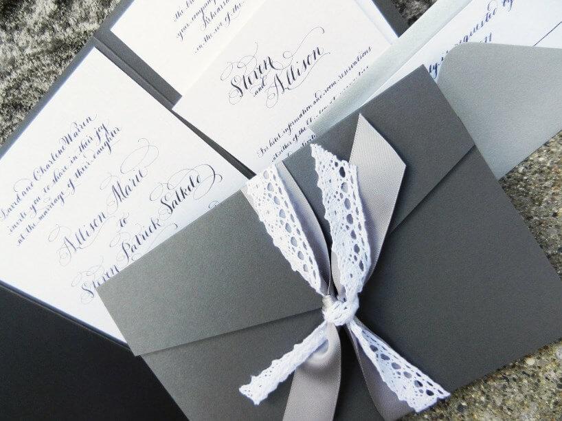 Contoh Undangan Pernikahan Elegan
