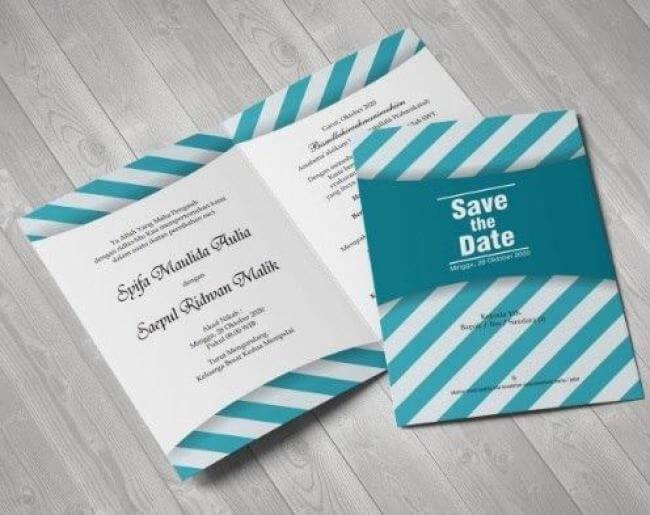 Contoh Undangan Pernikahan Simple Dan Elegan