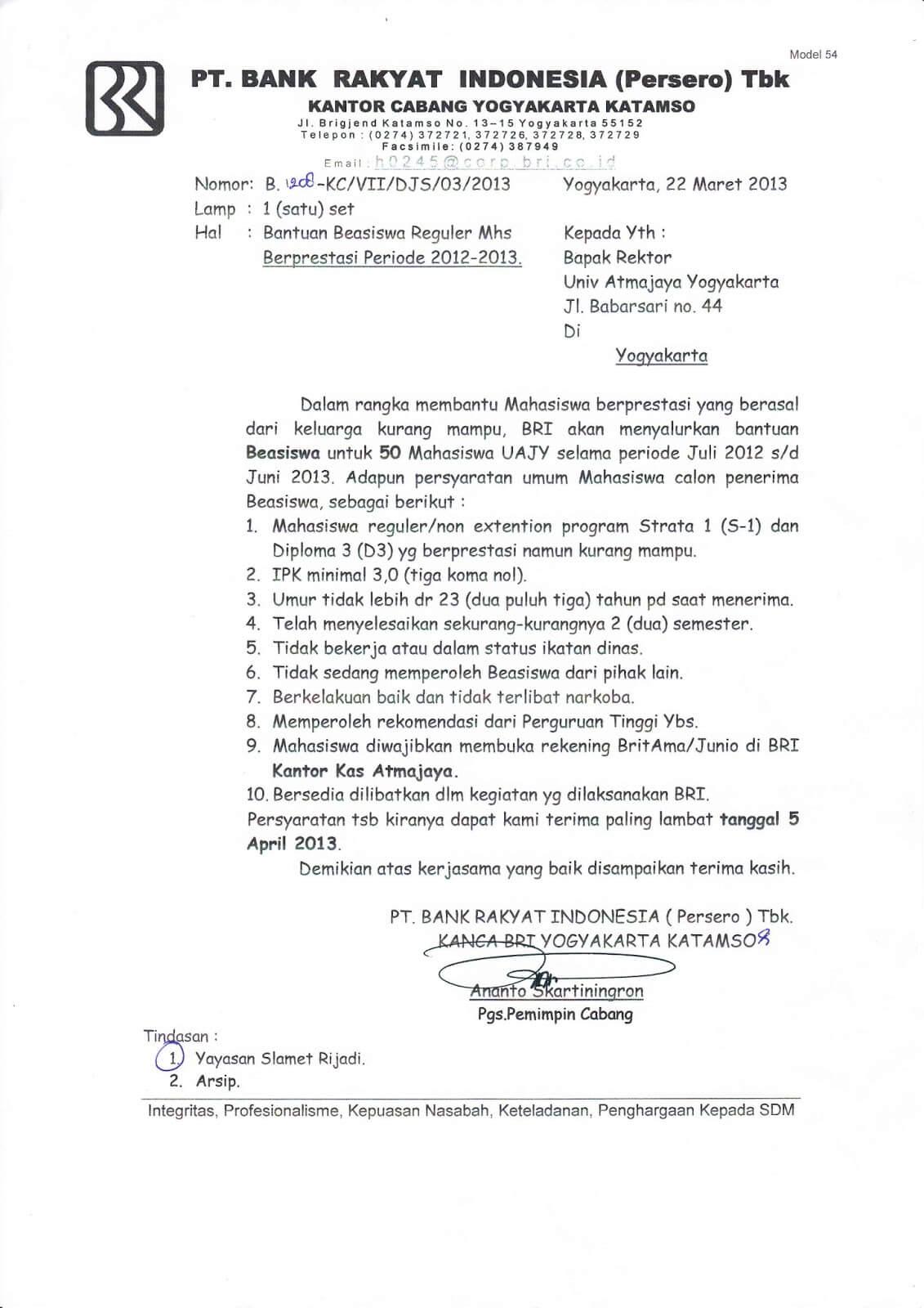 Contoh Surat Pemberitahuan Kegiatan Resmi Rt Contoh Surat