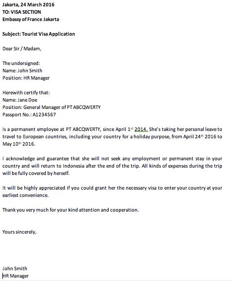 Contoh Surat Keterangan Karyawan - Contoh Surat