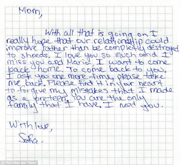 contoh surat pribadi singkat dalam bahasa inggris untuk ibu