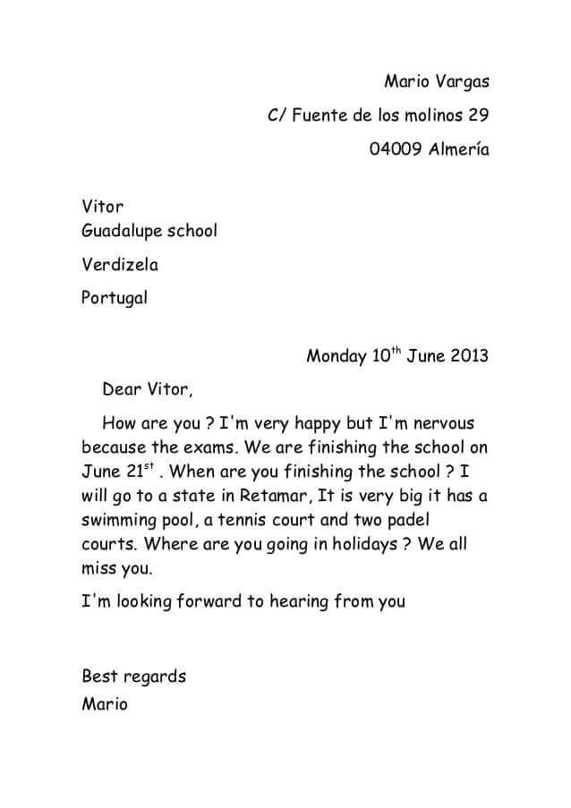 contoh surat pribadi kepada teman tentang liburan