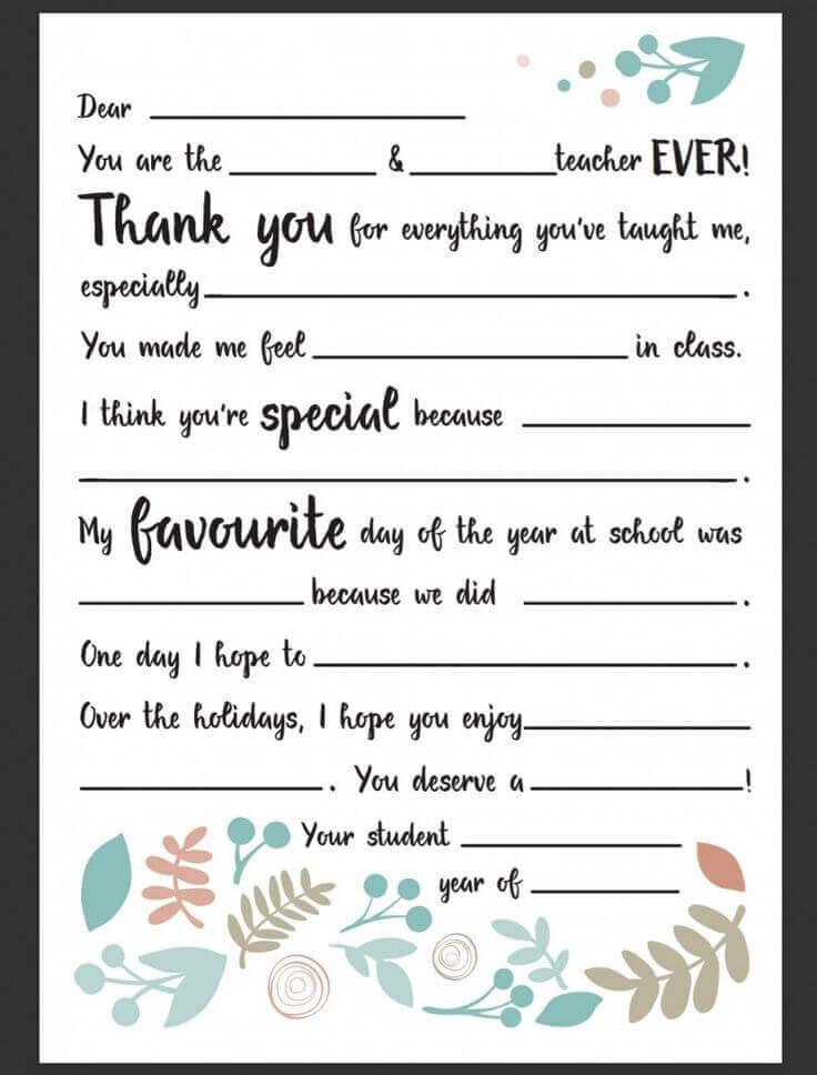contoh surat pribadi untuk guru dalam bahasa inggris