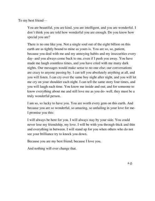 contoh surat untuk sahabat pena dalam bahasa inggris