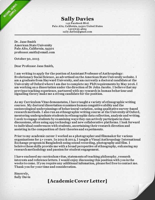 Contoh Surat Lamaran Kerja Dosen Dalam Bahasa Inggris