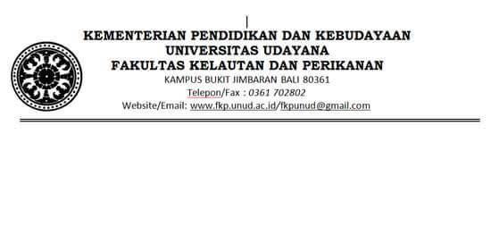 Contoh Kop Surat Universitas