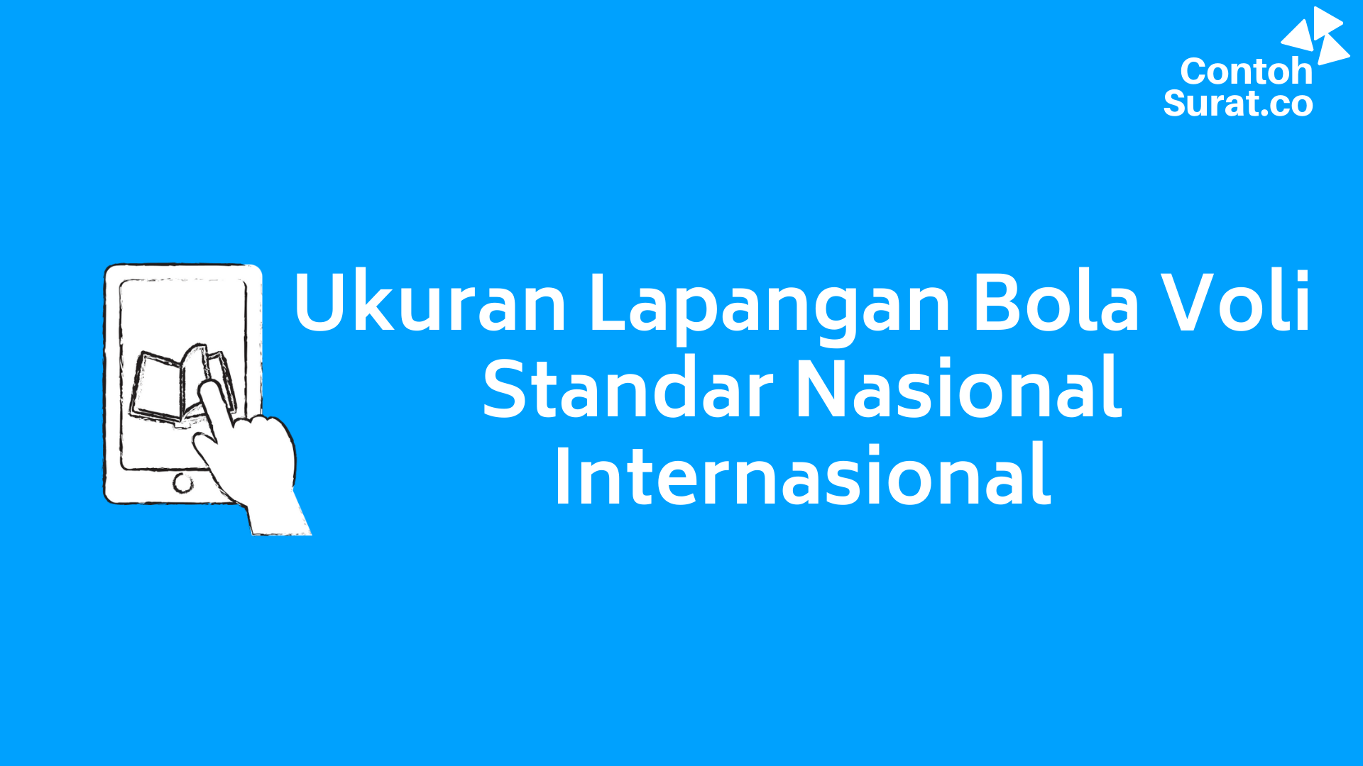 Ukuran Lapangan Bola Voli Standar Nasional Internasional