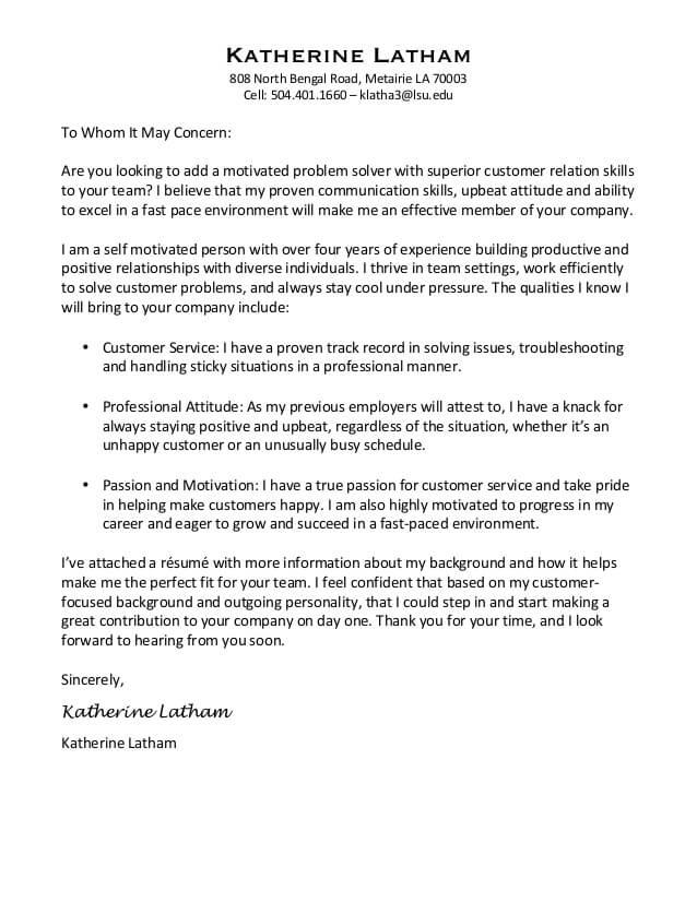 Contoh Surat Lamaran Kerja Inisiatif Sendiri Dalam Bahasa Inggris
