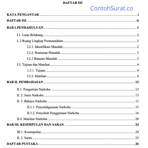 15 Contoh Makalah Cover Makalah Kata Pengantar Abstrak Daftar Isi Contoh Isi Makalah Kesimpulan Saran Dan Daftar Pustaka