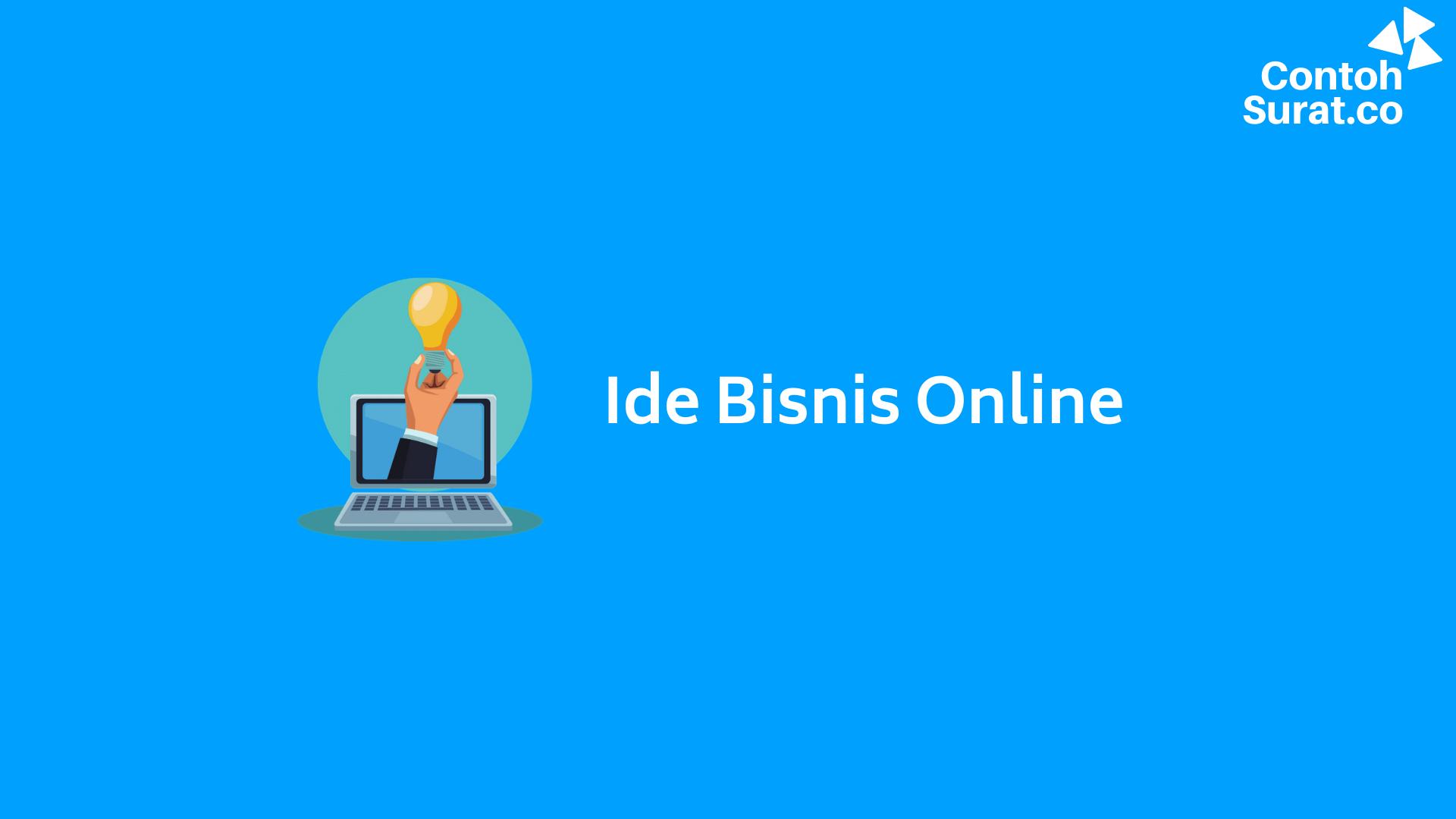 Ide Usaha Bisnis Online