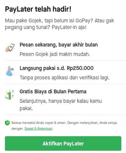 Gopay Later 5