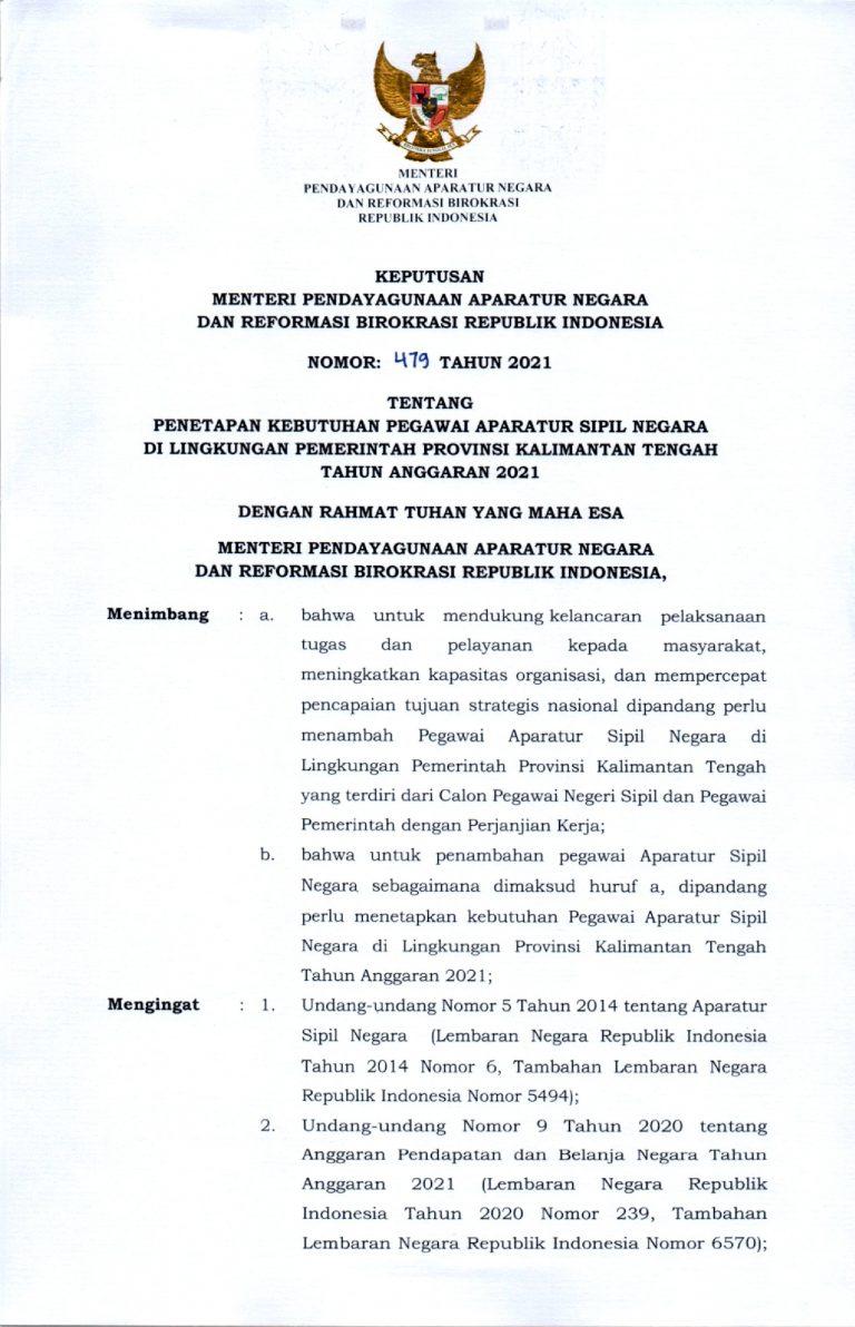 Lowongan Formasi Aparatur Sipil Negara (ASN) Provinsi ...