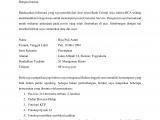 20 – Contoh Surat Lamaran Kerja di Bank BCA