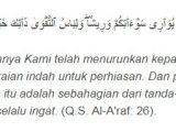 Adab Berpakaian Dalam Islam Al Araf 26
