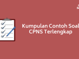 Contoh Soal CPNS Lengkap