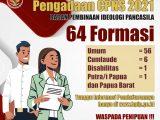 Formasi CPNS di Badan Pembinaan Ideologi Pancasila (BPIP)