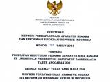 Penetapan Formasi Penerimaan Aparatur Sipil Negara (ASN) Kabupaten Tasikmalaya