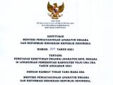 Penetapan Formasi Penerimaan Aparatur Sipil Negara (ASN) Kabupaten Tojo Una Una