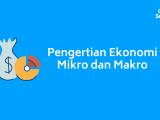 Pengertian Ekonomi Makro dan Ekonomi Mikro