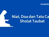Sholat Taubat – Niat Doa Tata Cara dan Waktu